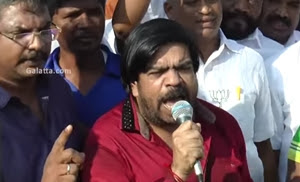 T.Rajendar urges youngsters to stop smoking