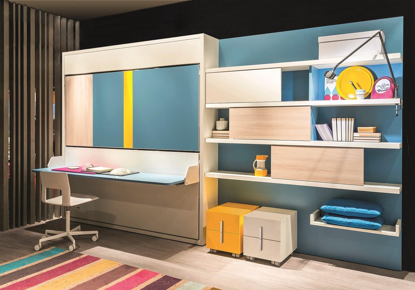 Bonetti camerette bonetti bedrooms cameretta per due for Scrivania a scomparsa