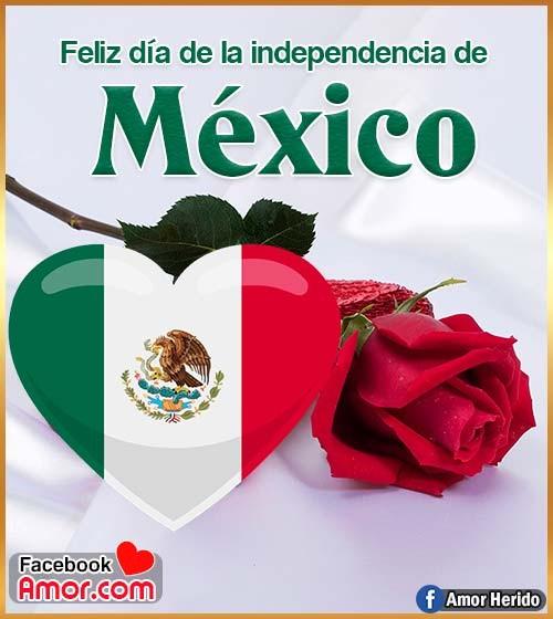 feliz día de independencia de México