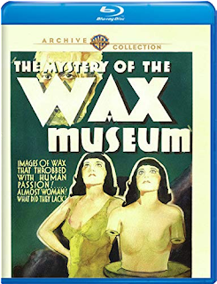 Warner Archive Collection's Blu-ray of THE MYSTERY OF THE WAX MUSEUM is Vault Master's Pick of the Week for 05/12/2020!