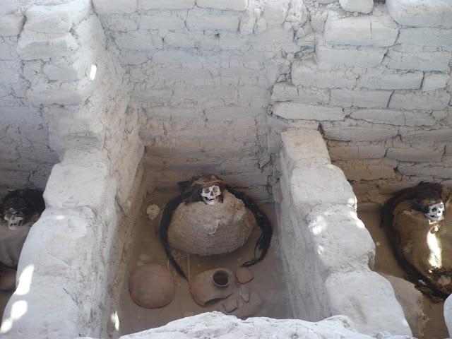 nazca cimitero di chuachilla