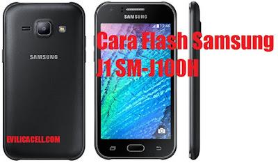Cara Flash Samsung J1 SM-J100H