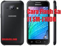 Cara Flashing Samsung J1 SM-J100H