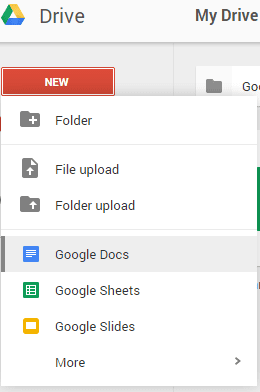 Google Drive Apps List