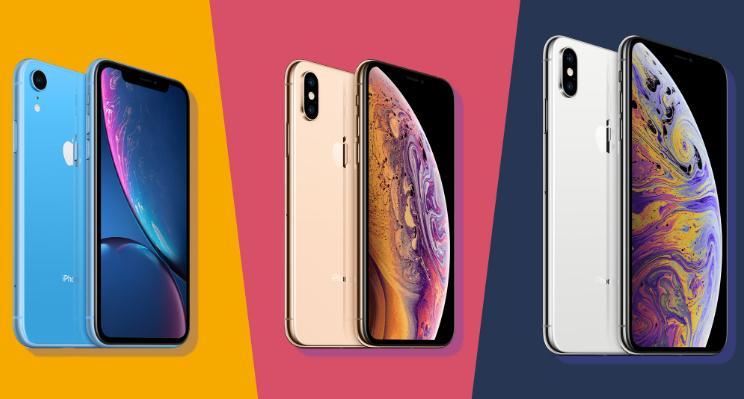iPhone XS Max dan iPhone XR