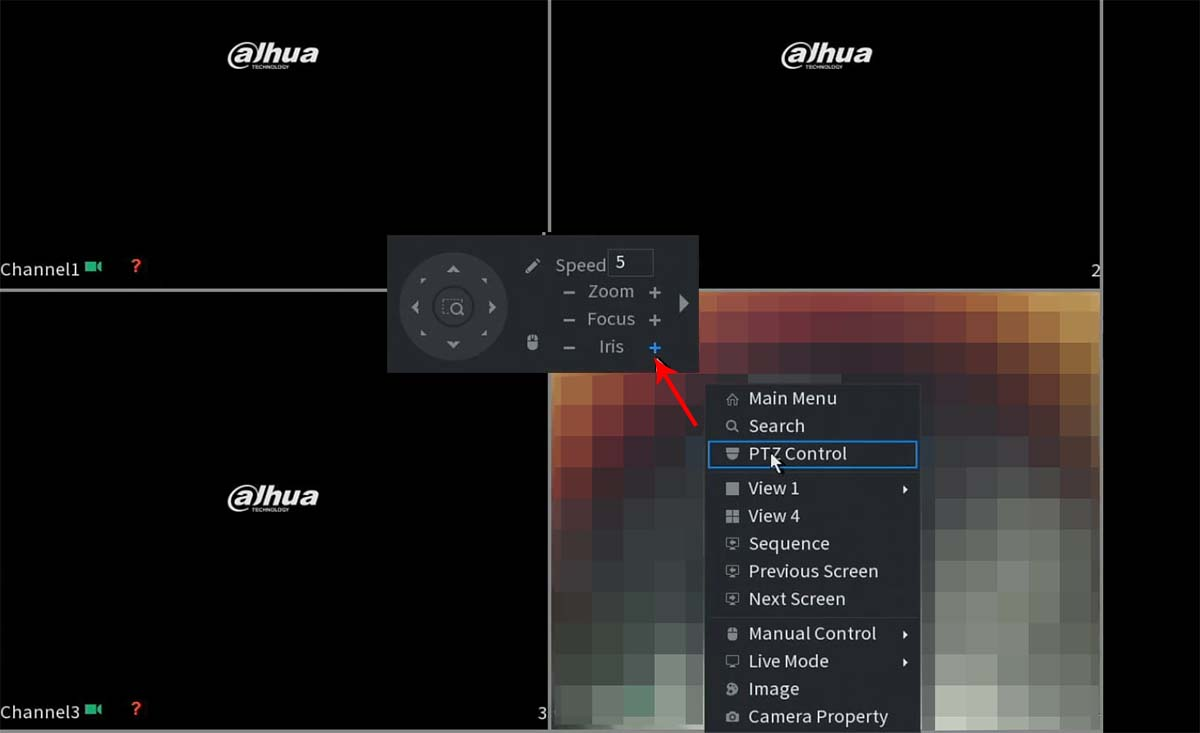 Turn Off the White Light in Dahua Cameras