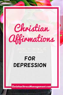 Christian affirmations for depression
