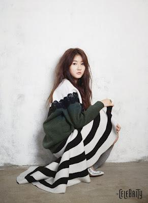 Kim Sae Ron - The Celebrity Magazine February Issue 2016