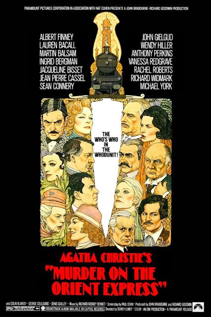 Póster película Asesinato en el Orient Express - 1974