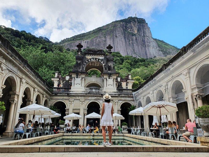 Plage Café Parque Lage Rio de Janeiro