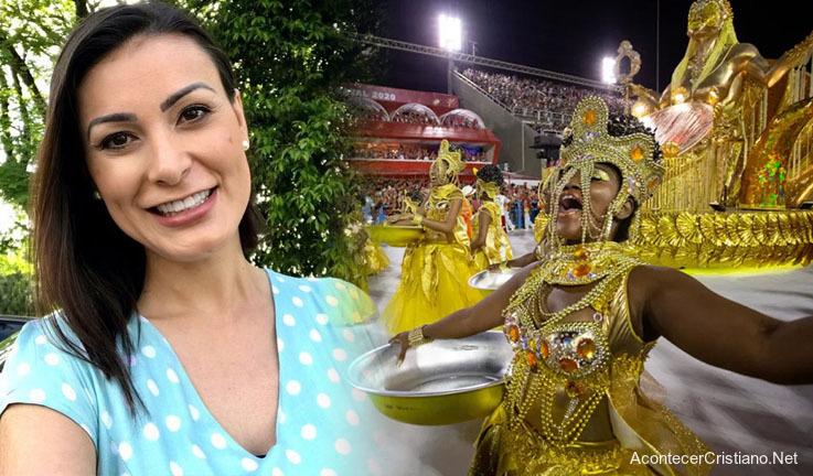 Ex modelo Andressa Urach abandona Carnaval
