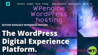 WPengine WordPress hosting, managed WordPress hosting
