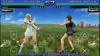 Penggemar game fighting pasti tahu game ini Tekken Dark Resurrection
