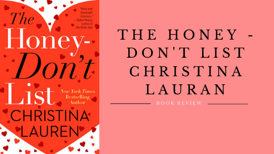 The Honey - Don't List by Christina Lauren