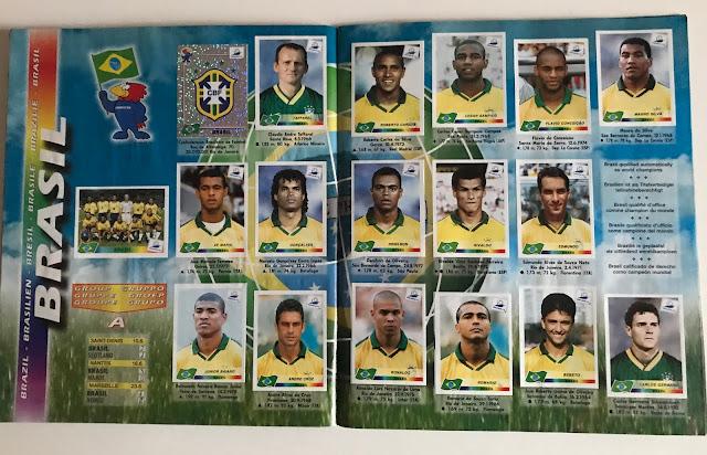 figurine  brasile  francia 98
