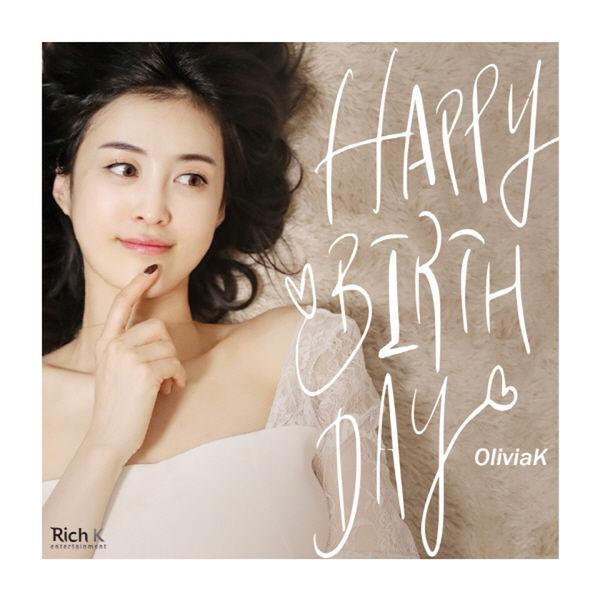 OliviaK – Happy Birthday – Single
