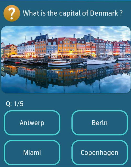 What is the capital of Denmark?