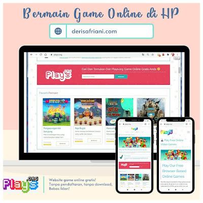 bermain game online di hp