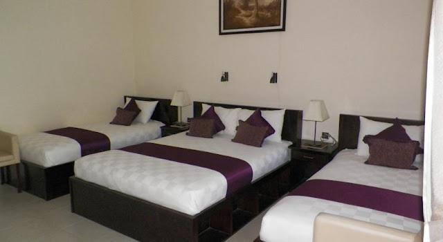 Room Type triple @ Sunrise resort batu karas
