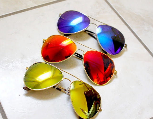 affordable mirrored sunglasses ebay