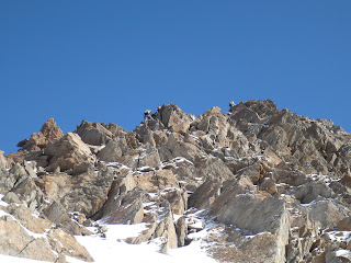 Klettern am SSO-Grat