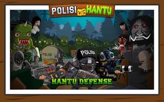 Polisi vs Hantu Pocong, Genderuwo, Tuyul - Defense APK