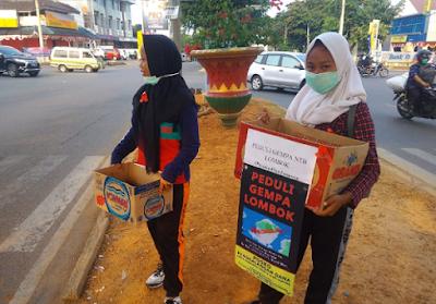 Komunitas Pencinta Alam Lampung Galang Dana Gempa Lombok