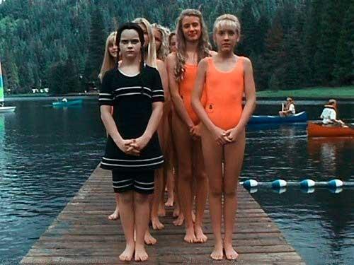 A família Addams 2 Vandinha cena