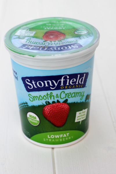 Stonyfield Smooth and Creamy LowFat Yogurt