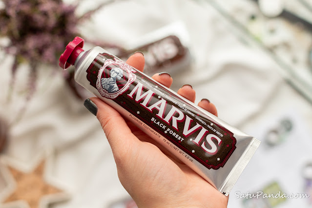 Marvis Black Forest зубная паста отзыв