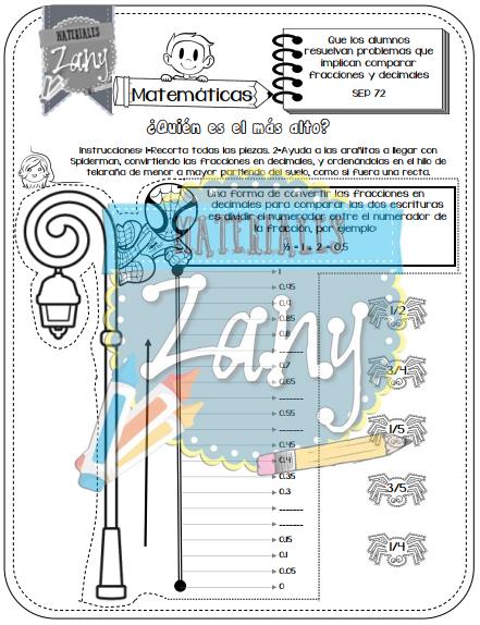 Materiales Zany Sexto Grado Bloque III - Materiales Zany