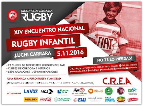 XIV Encuentro Nacional de Rugby Infantil LUCHI CARRARA