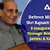 Defence Minister Shri Rajnath Singh e-inaugurates six strategic bridges in Jammu & Kashmir
