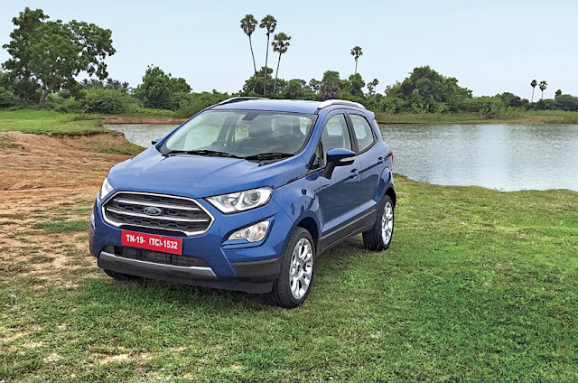 New 2017 Ford EcoSport In India