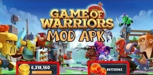 Download Game of Warriors V1.1.44 Mod Apk (Unlimited Coins)