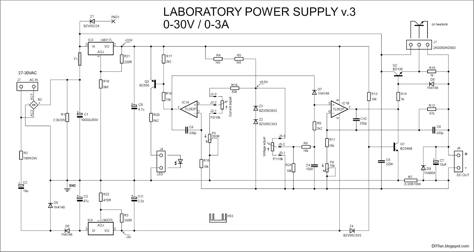 Diyfan Adjustable Lab Power Supply Take Two