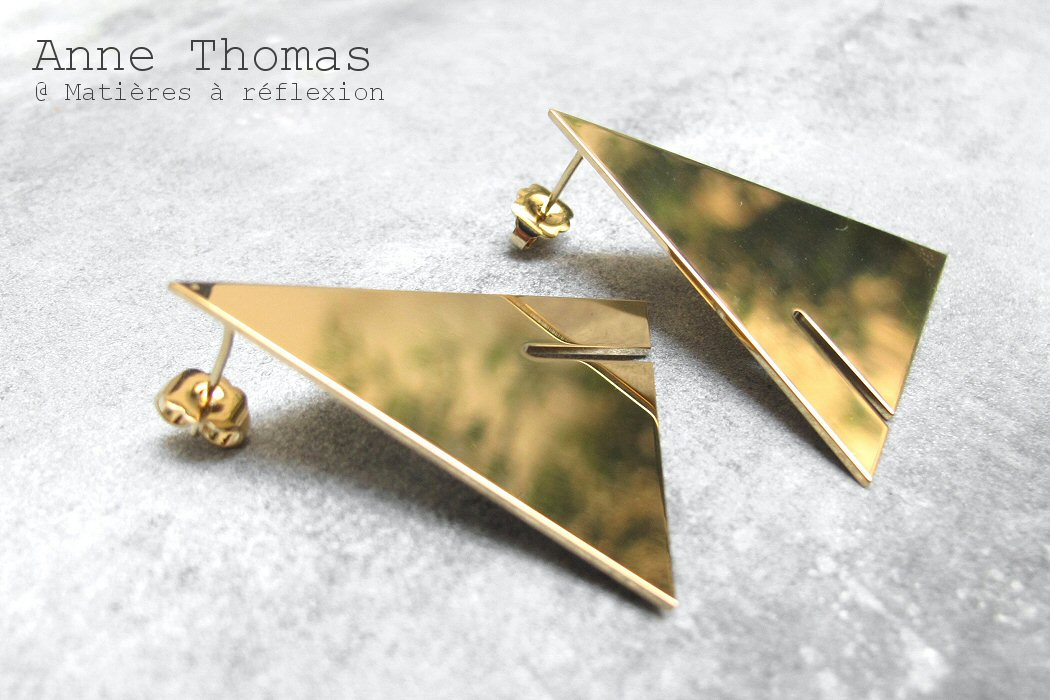 Anne Thomas boucles triangles Ludwig
