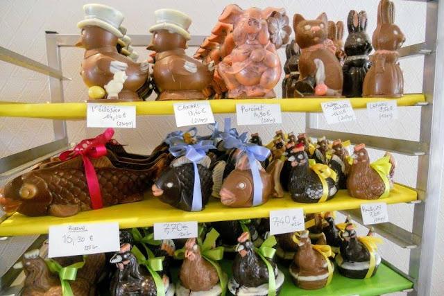 Paris to Normandy Road Trip: Chocolatier in Grandvilliers France