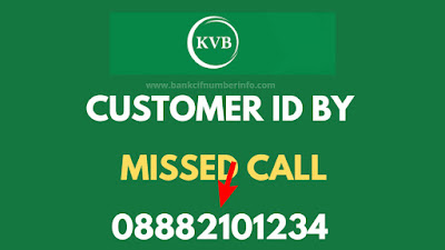 Give a missed call to KVB