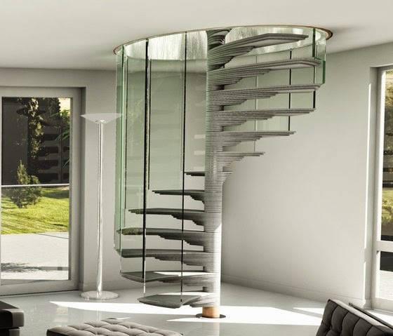 modern staircase design, spiral staircase design ideas