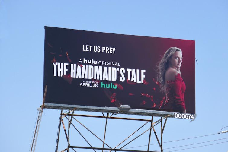 Handmaids Tale s4 Hulu billboard