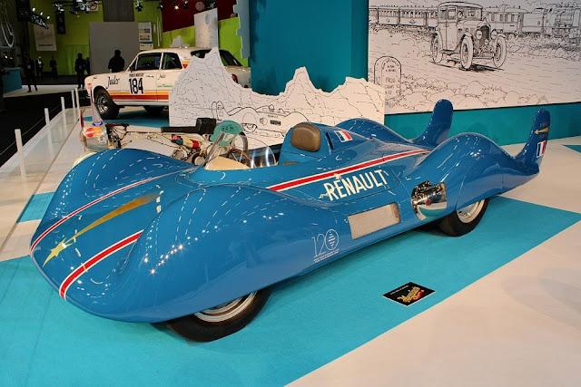 Renault Etoile Filante classic land speed record car