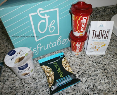 Disfrutabox: Nocilla, Ti ora, Avena Go, Pistachos Mr Wonderful