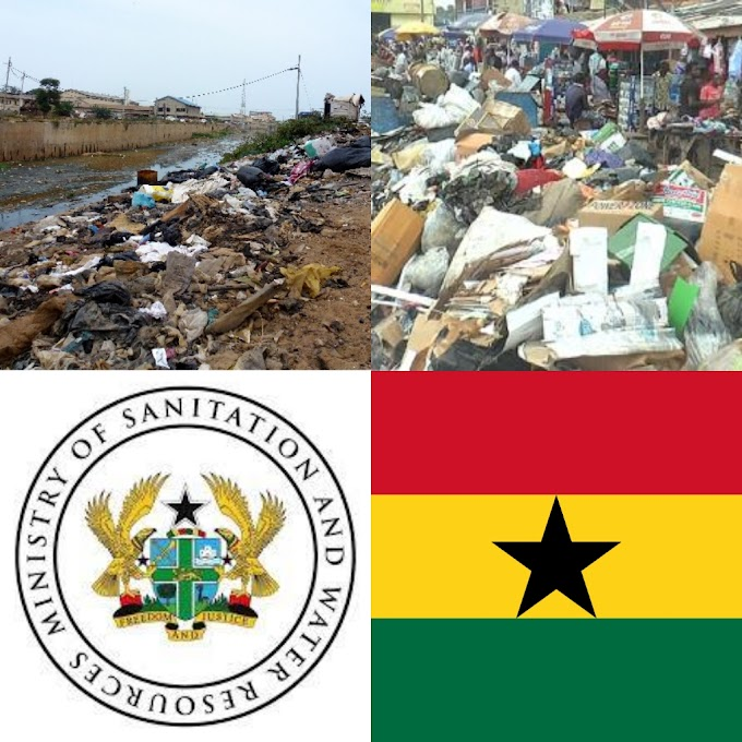 Bright Philip Donkor writes : Poor sanitation discoloring Ghana's Flag