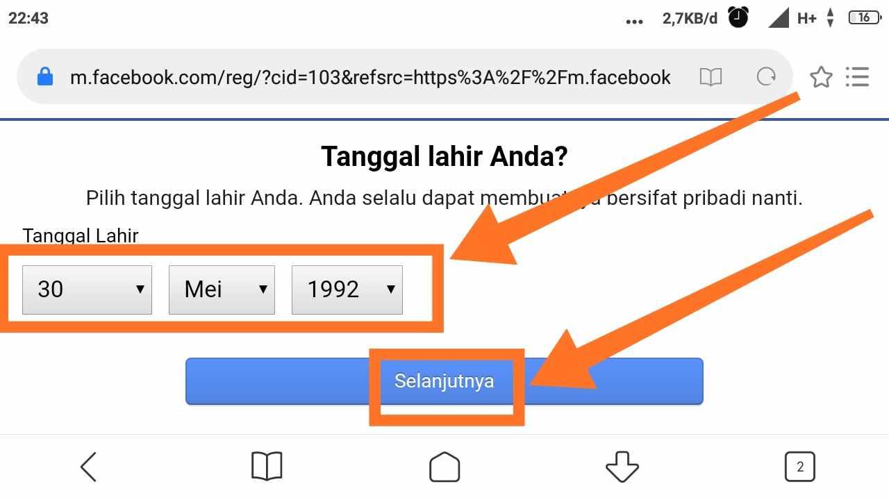 Cara Multi akun Facebook