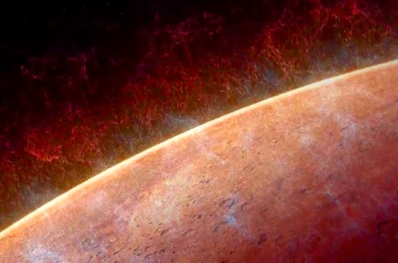 Marte perdendo atmosfera