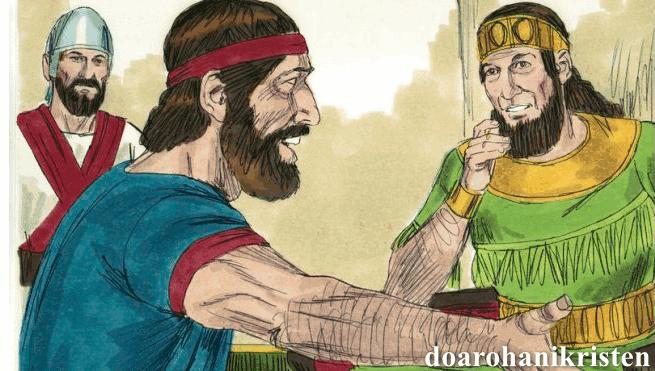 Nubuat Pertama Nabi Elia Di Hadapan Raja Ahab