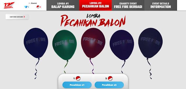 Aturan Main Event Booyah Kemerdekaan 17 Agustus Free Fire
