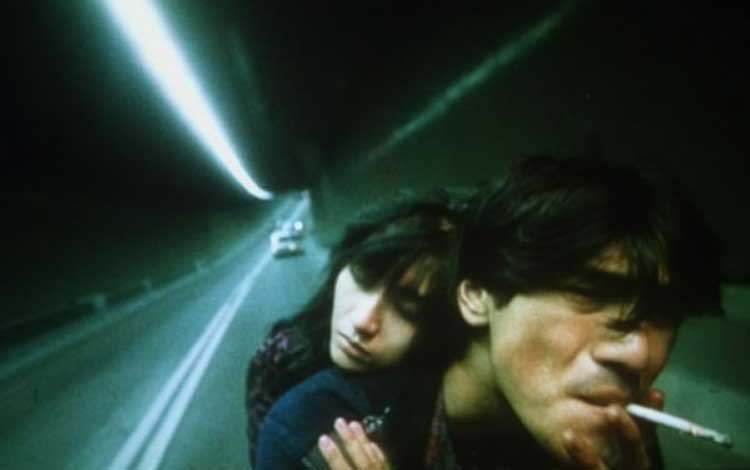 A beautiful ride through a tunnel in Wong Kar-Wai's Fallen Angels