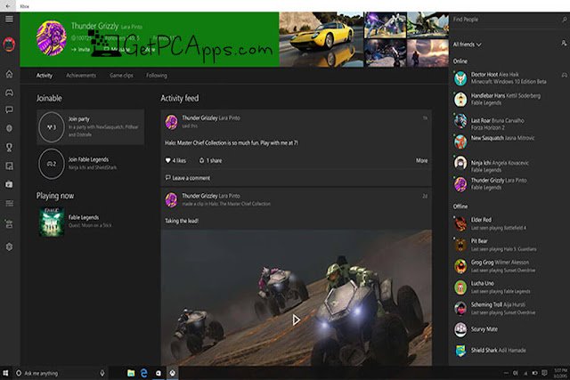 Xbox Console Companion Software Setup for Windows 10 PC